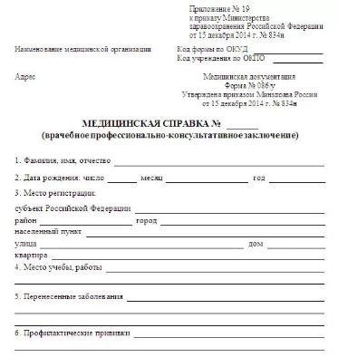 Справка 086 у Северо-Восточный административный округ лабораторные показатели анализа крови на гормон фсг при климаксе